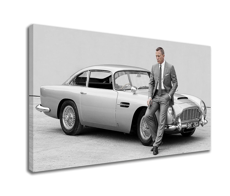 Amazoncom ASTON MARTIN DB SKYFALL DANIEL CRAIG JAMES BOND CANVAS - Aston martin db5