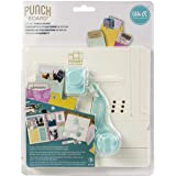 We R Memory Keepers 0633356604846 Tool Journaling-Pocket Punch Board (6 Piece), Multicolor