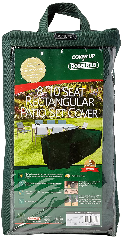 Bosmere C537 C537 C537 Premium-Schutzhülle für rechteckige Tischgruppe 9afa82