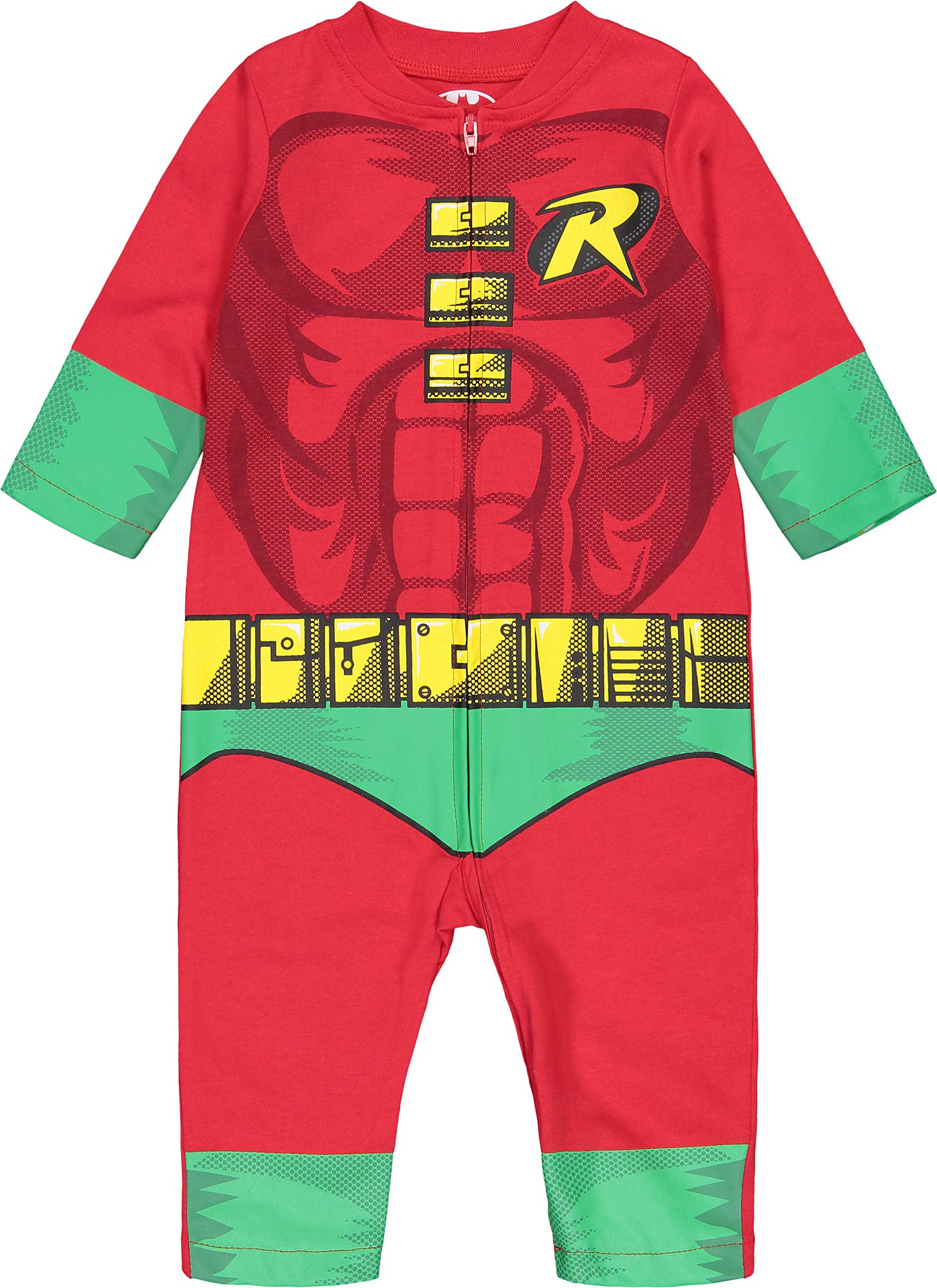 Warner Bros. Justice League Robin Baby Boys' Zip-Up Caped Costume Coverall (18 Months) by Warner Bros. (Image #4)