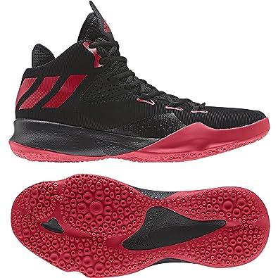 2767743a04f3 ... denmark adidas mens dual threat 2017 scarle cblack ftwwht basketball  shoes 11 uk 33d6c 28fc7