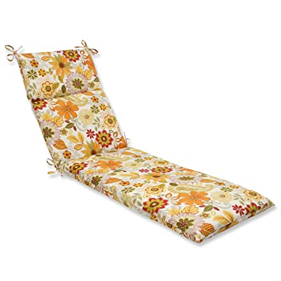 Pillow Perfect Outdoor Gaya Multi Chaise Lounge Cushion: Home & Kitchen