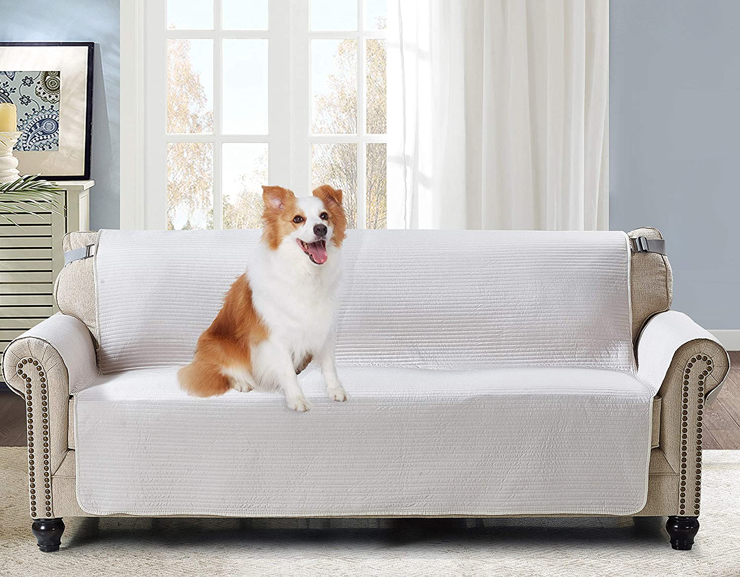Brilliant Sunshine Large Sofa Protector for Seat Width Up to 70