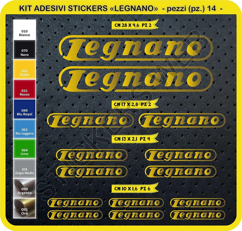 Cód. 0102 - Kit de adhesivos Legnano para bicicleta, 14 unidades ...