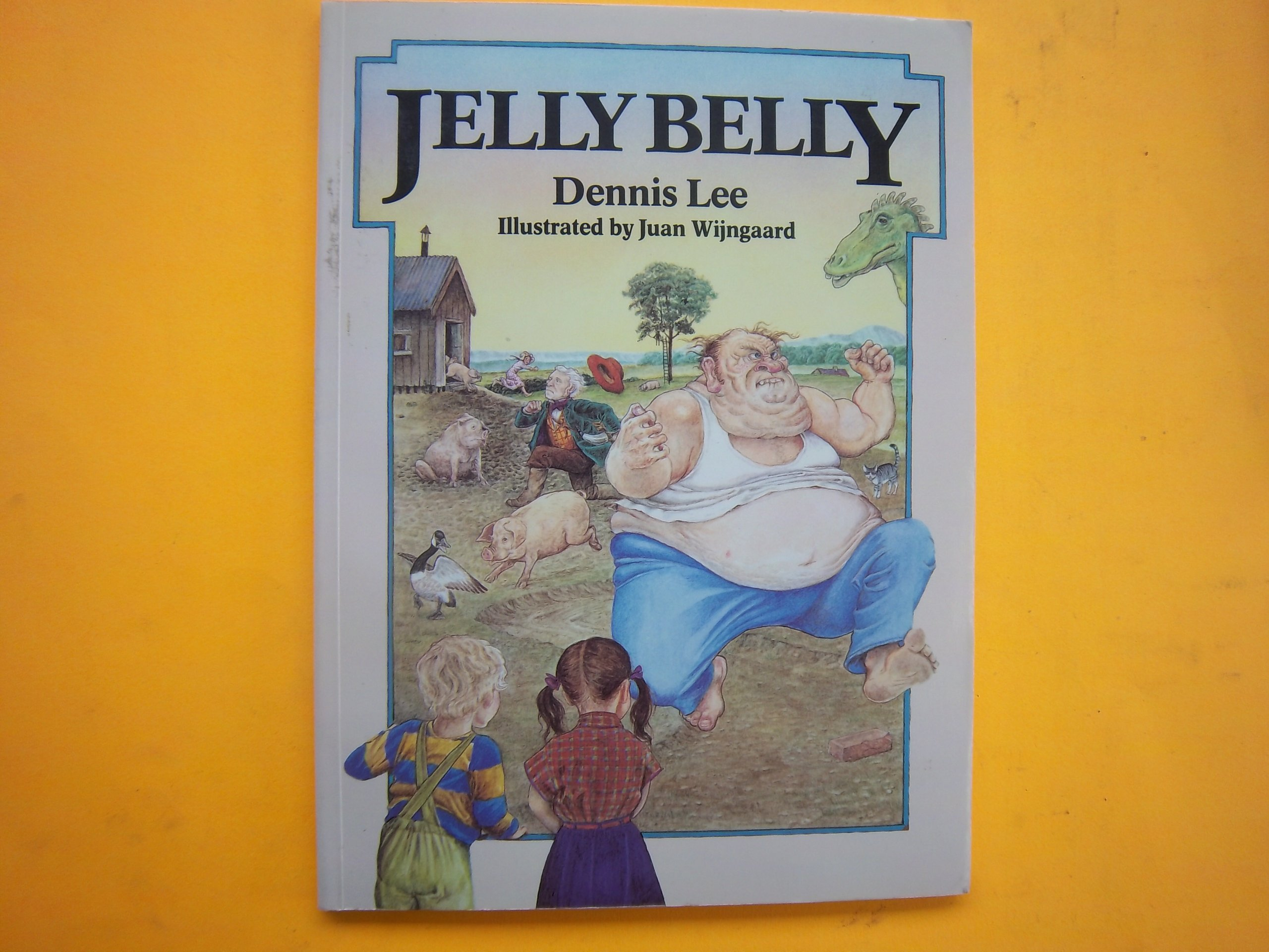 Jelly Belly Dennis Lee 9780771594205 Books Gng