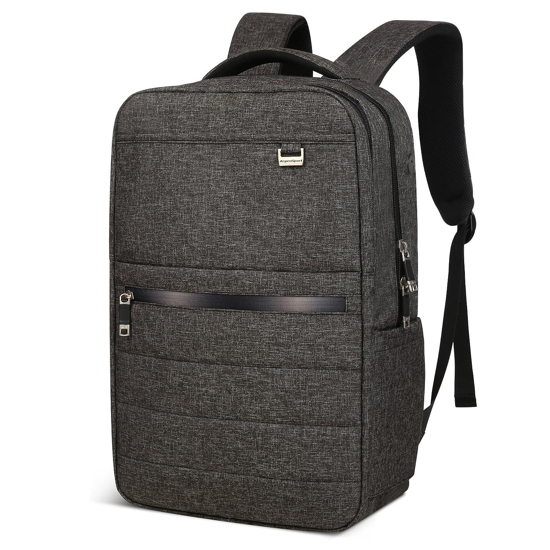 Aspen - abschließbarer Rucksack in der Frontansicht