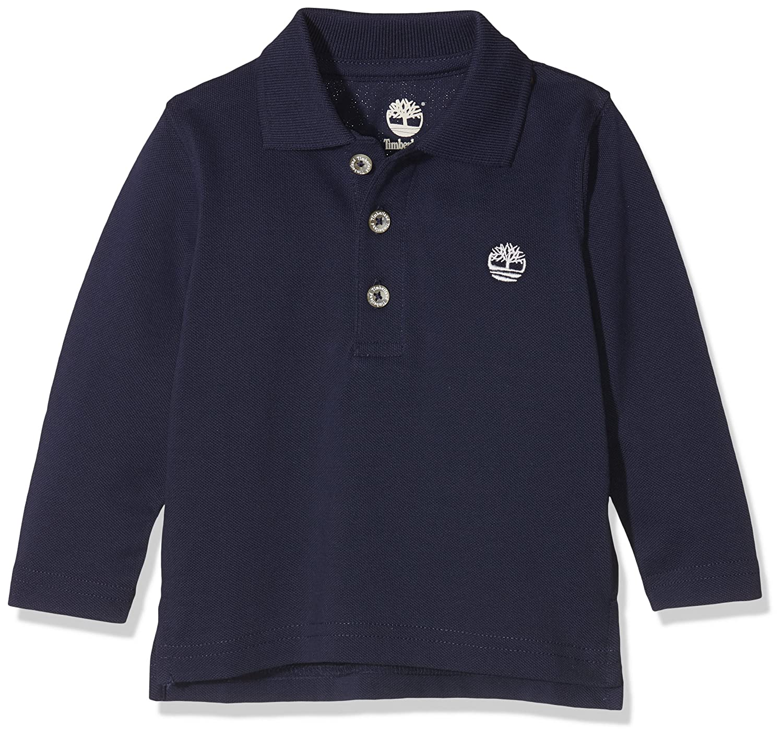 Timberland Baby Boys' Long Sleeve Polo T-Shirt T05G65