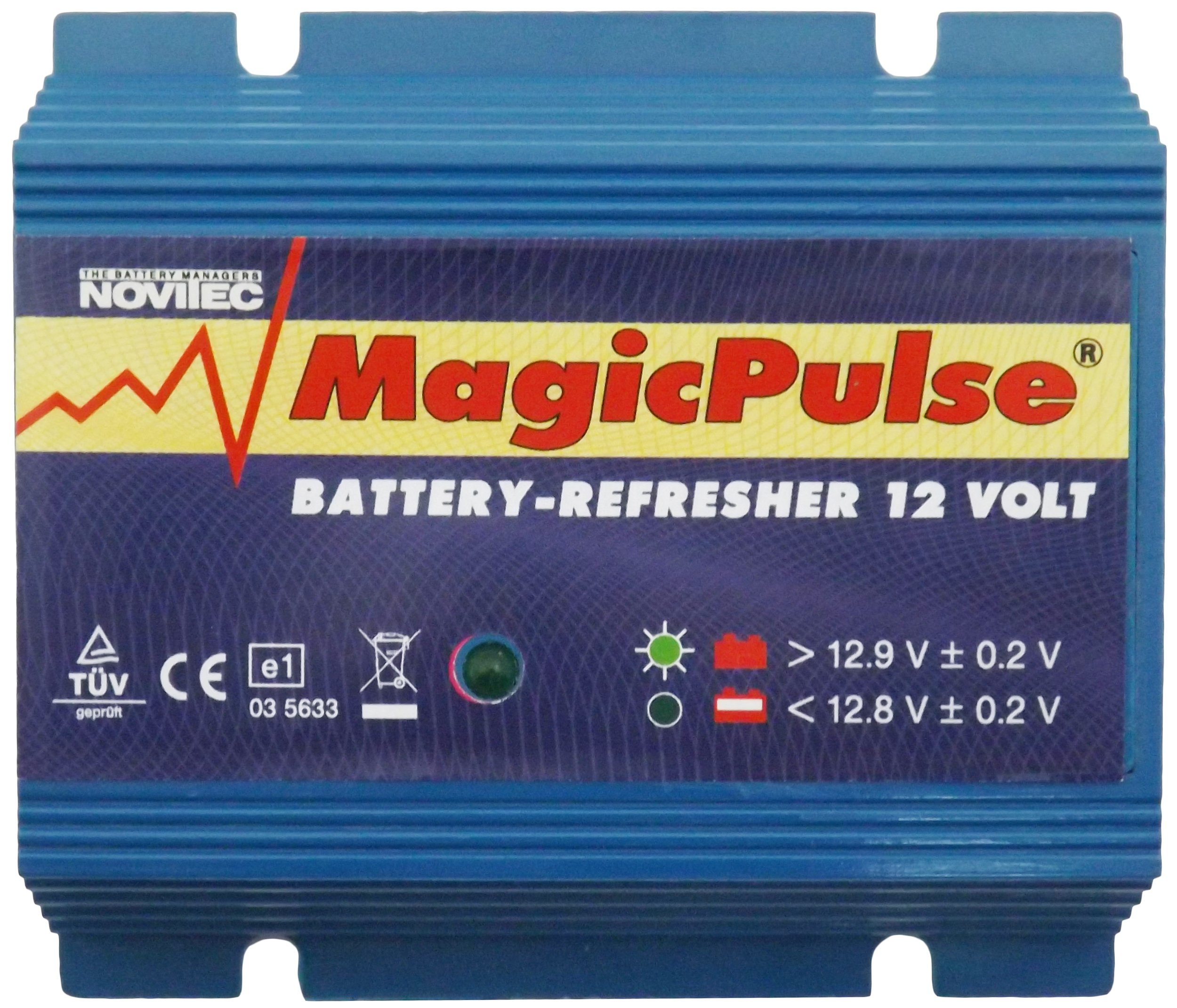 Magicpulse 12 Volt Battery Refresher, Extend the life of your battery by Magicpulse
