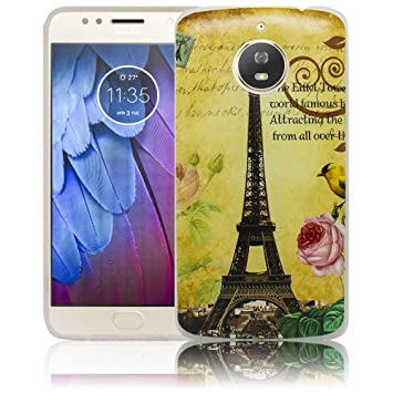 2216ed677d thematys Lenovo Motorola Moto E4 Plus La Tour Paris Eiffel tower Silicone  Protective Case Soft Case
