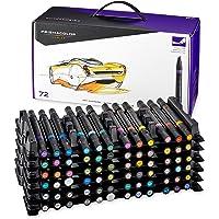 Prismacolor Premier marcadores para arte con doble extremo, set de 72 colores variados (3722)