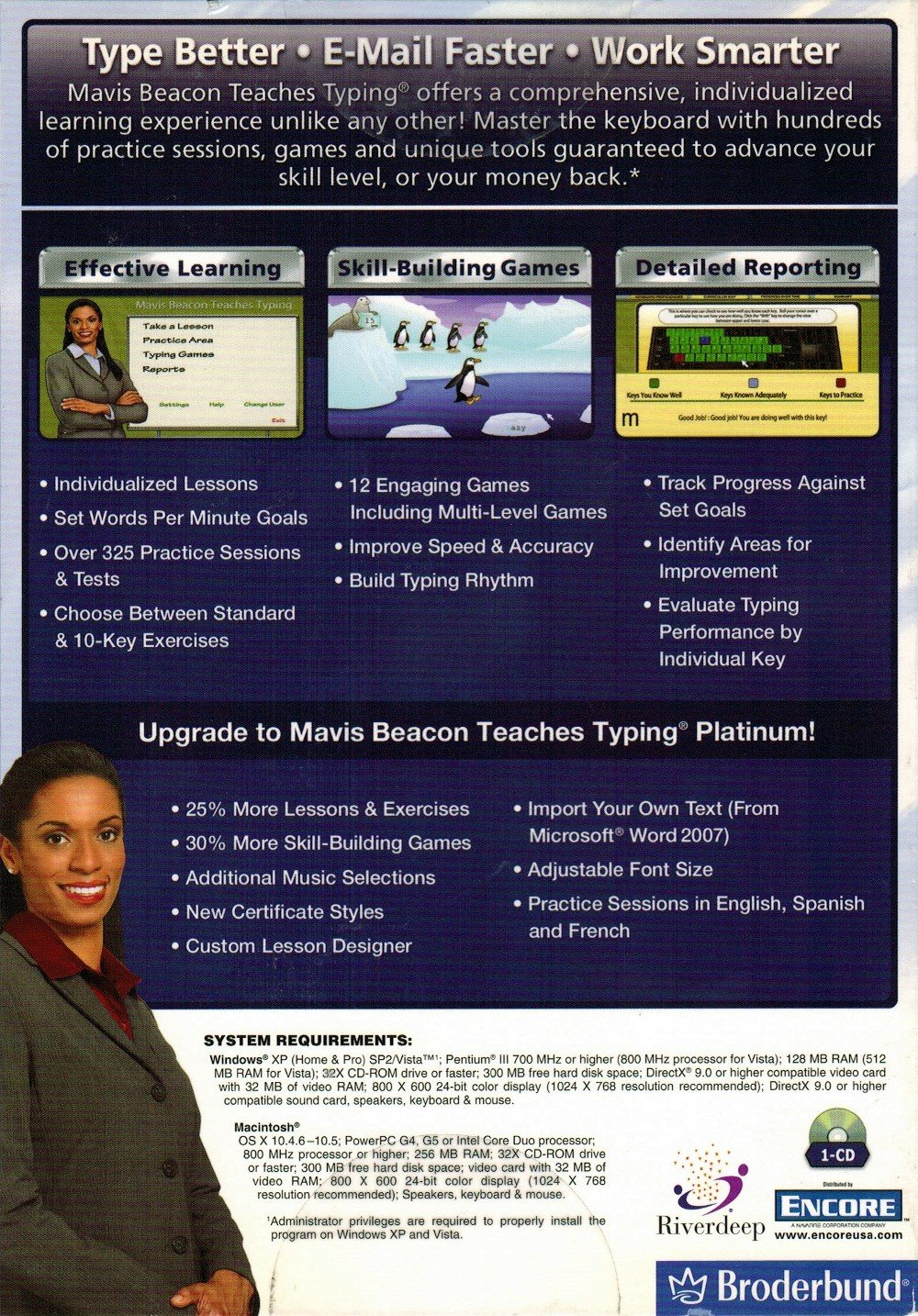 Mavis Beacon Teaches Typing Deluxe 20 - Old Version by Encore (Image #3)