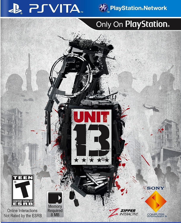 Amazon com: Unit 13 - PlayStation Vita: Sony Computer Entertainme