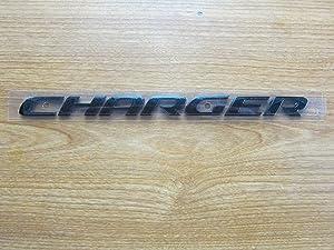 Dodge Charger Satin Black Charger Decklid Badge New Mopar OEM