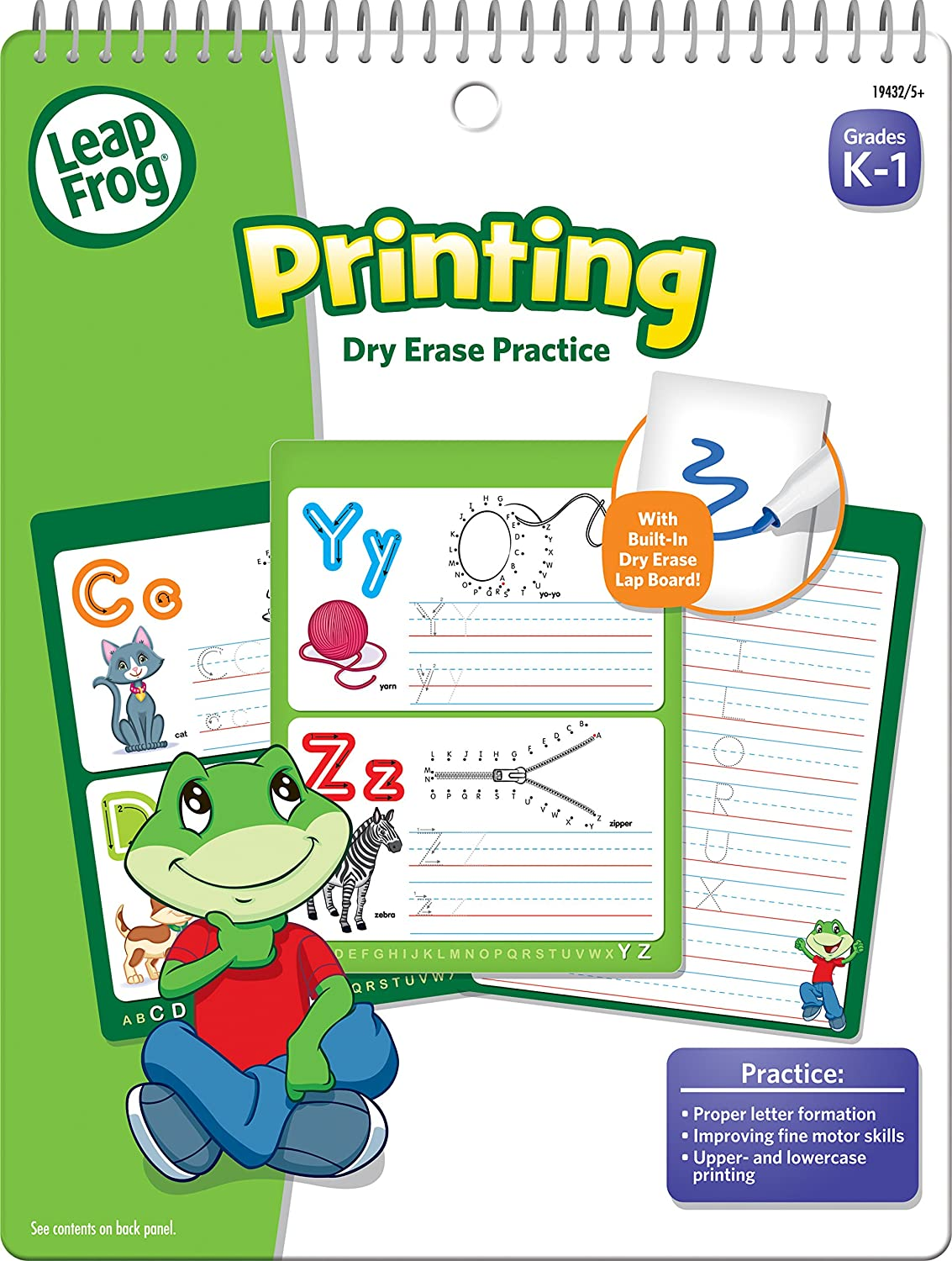 Workbooks practice workbook : Amazon.com: LeapFrog Printing Dry Erase Practice Workbook for ...