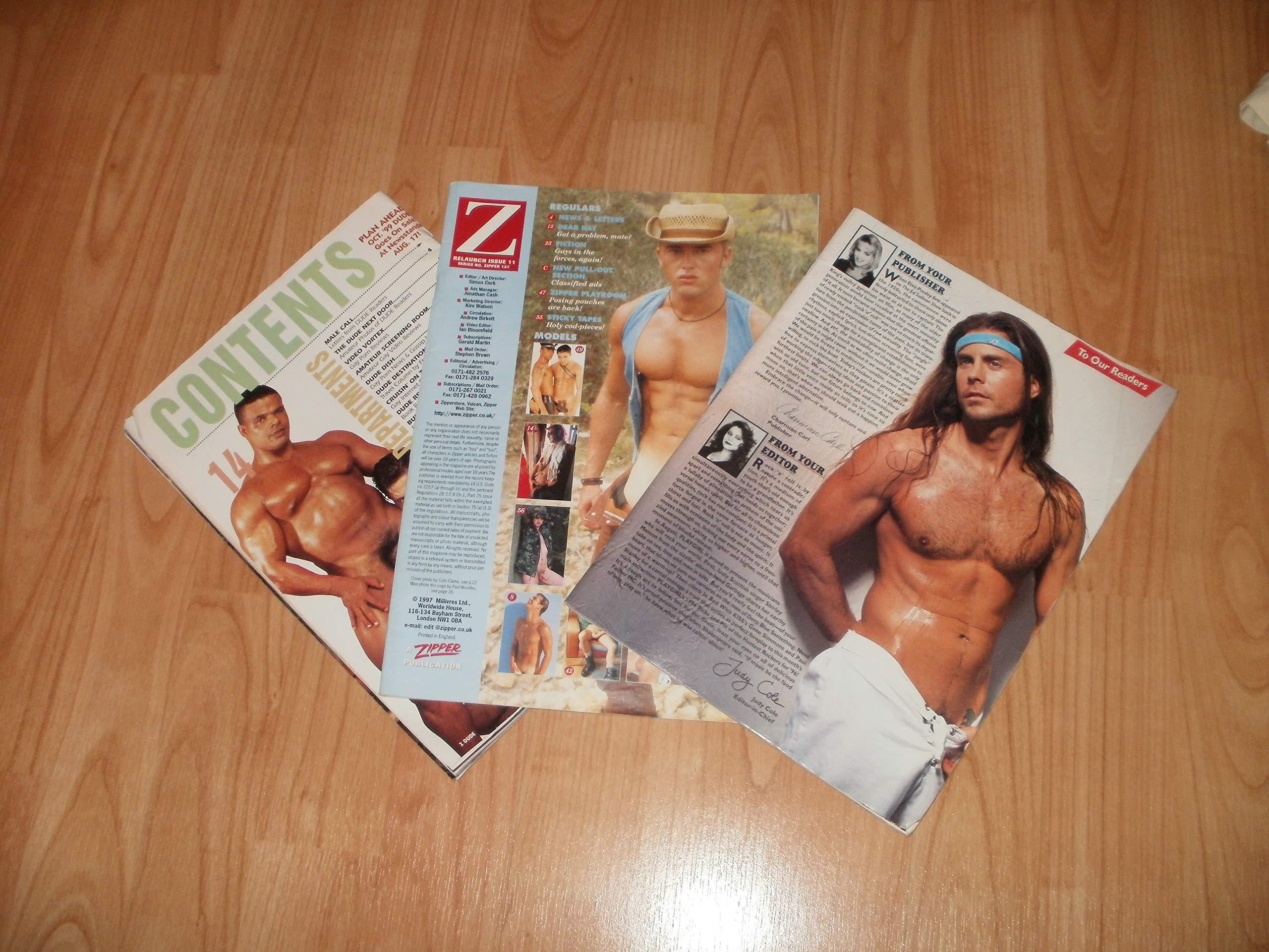 Various Tatty Gay Magazines 3 pack: Amazon.co.uk: US Magazines:  9771350039019: Books