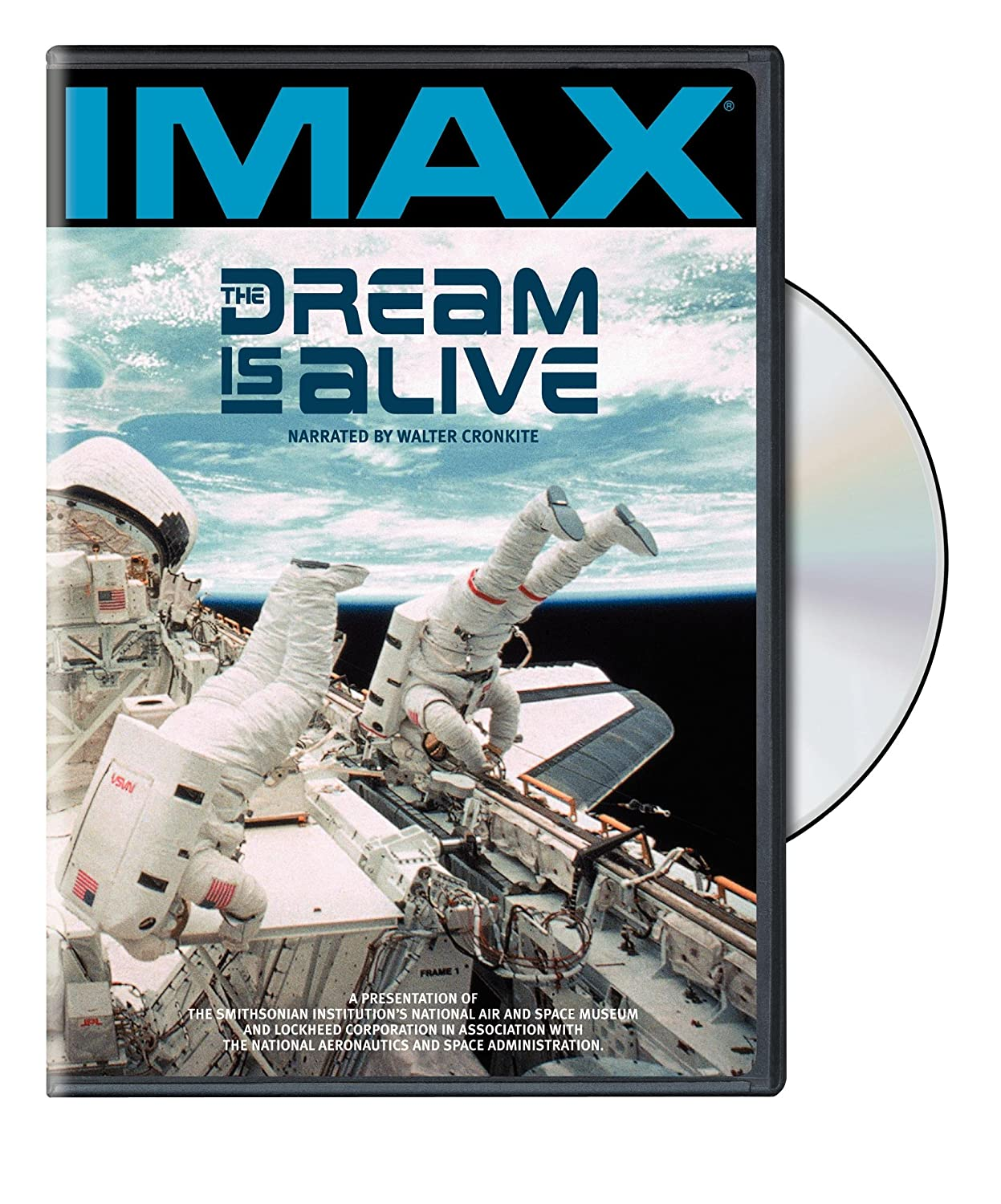 IMAX: The Dream is Alive Walter Cronkite Graeme Ferguson IMAX / Warner Home Video Documentary