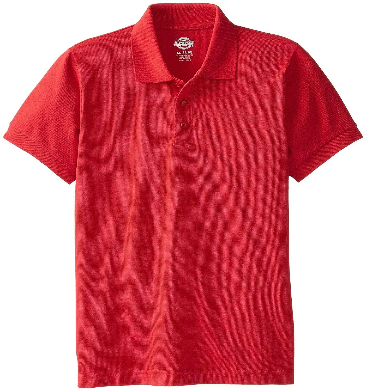 Dickies Boys Short Sleeve Pique Image 1
