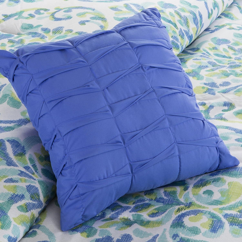 Intelligent Design ID10-469 Ari Comforter Set Full//Queen Aqua E/&E Co Ltd DBA JLA Home