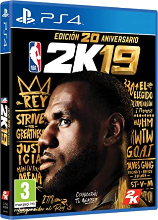 NBA 2K19 Edición 20 Aniversario: Amazon.es: Videojuegos