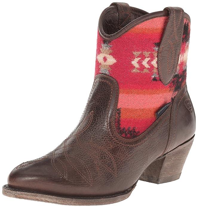 Amazon.com | Ariat Women's Meadow Western Boot | Ankle & Bootie