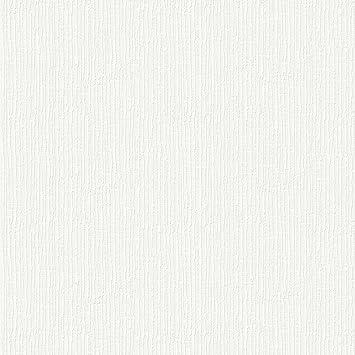 Superfresco Paintable Hessian White Durable Heavy Duty Wallpaper