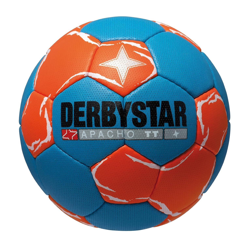 Derbystar Apacho TT - Balón de Balonmano Azul Blau/Orange Talla:2 ...
