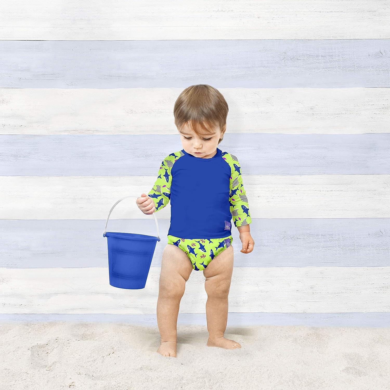 Schwimmshirt L Neon mehrfarbig 1-2 Jahre Bambino Mio SWTL NEO