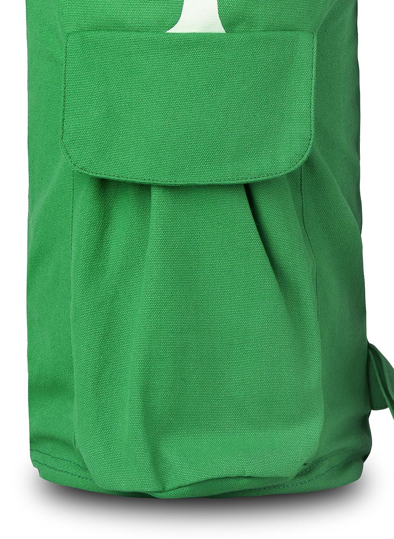 passend f/ür sowohl 1//2/und 1//4-Zoll Dicke Matten BalanceFrom goyoga Full Zip Yoga-Matte Tasche mit multifunktionalen Speicher Taschen