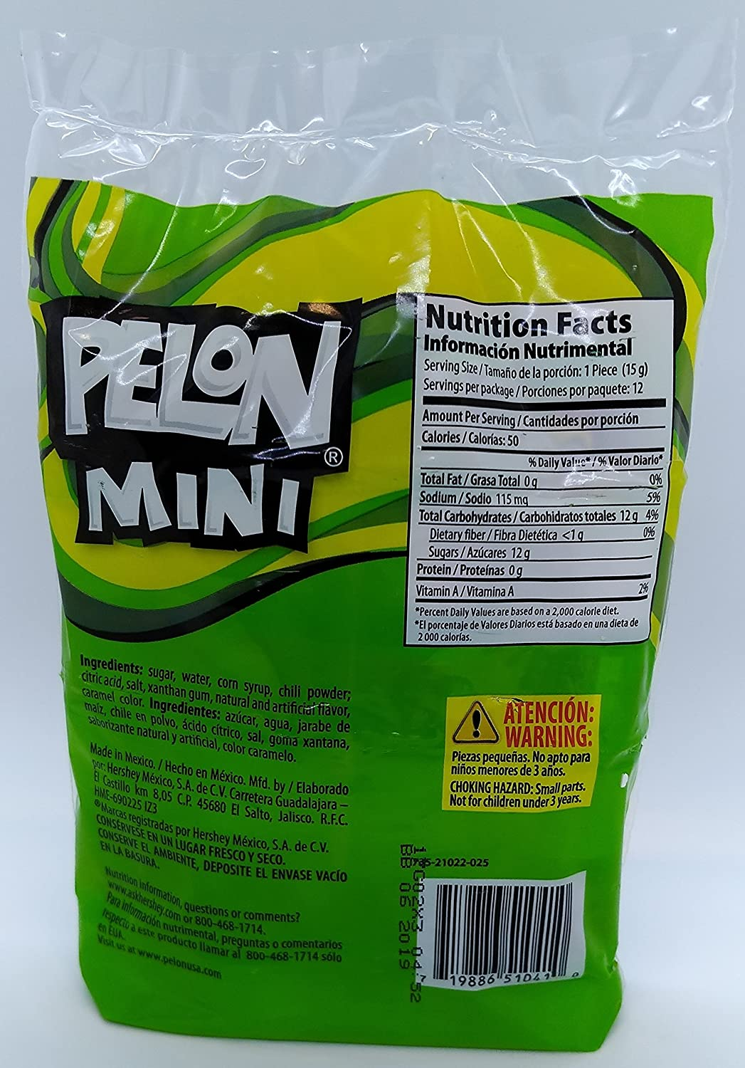 Amazon.com : PELON MINI PELO RICO 12 COUNT (PACK OF 2) : Grocery & Gourmet Food