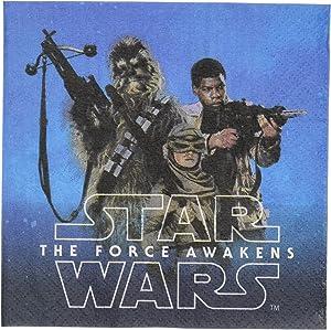 Star Wars Episode VII Beverage Napkin, Party Favor