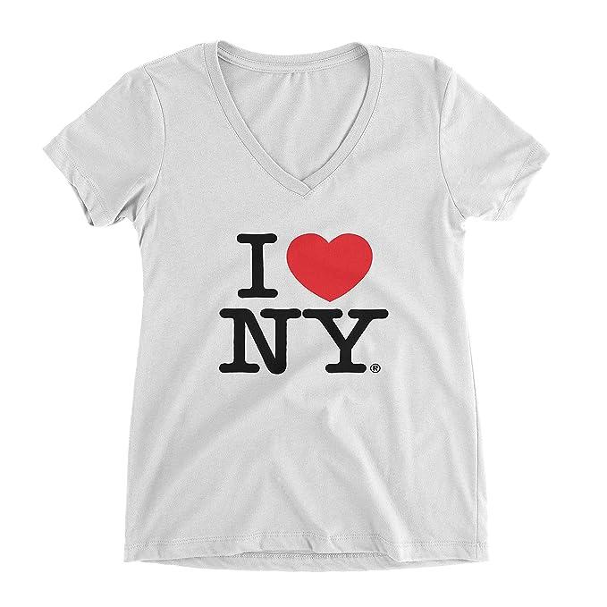 Amazon i love ny new york womens v neck t shirt spandex heart i love ny new york womens v neck t shirt spandex heart white small thecheapjerseys Images