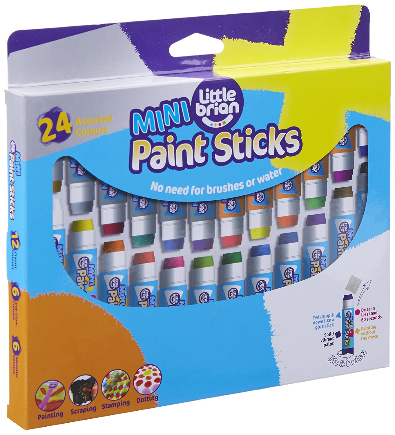 Mini Paint Sticks