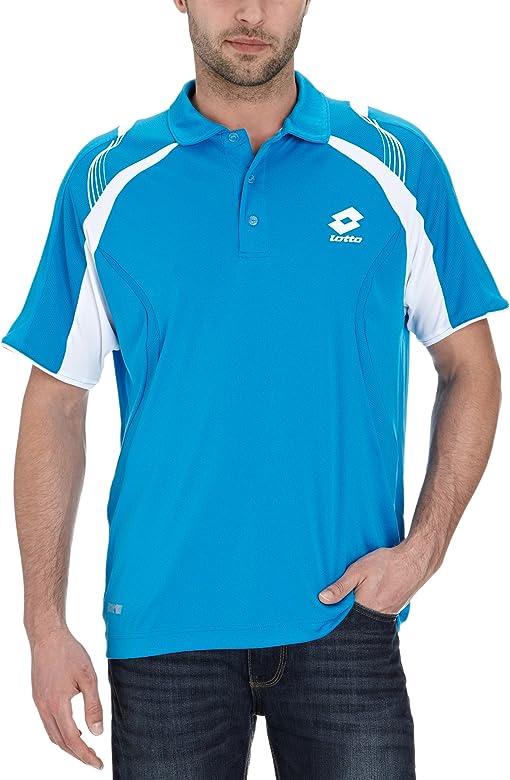 Lotto Sport - Polo de Deporte para Hombre, tamaño XXL, Color Azul ...