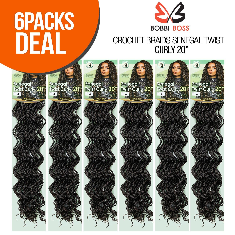 Amazon Multi Pack Deals Bobbi Boss Synthetic Hair Crochet