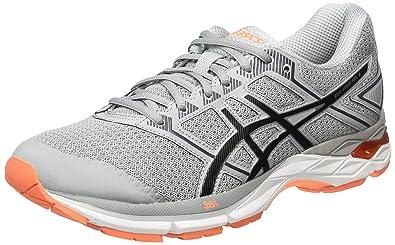 Asics Gel-Phoenix 8, Chaussures de Tennis Homme, Gris (Midgrey/Black/Hot Orange), 42.5 EU