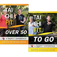 Bundle: Tai Chi Fit OVER 50 & TO GO with David-Dorian Ross / Beginner DVDs for Balance and Stability
