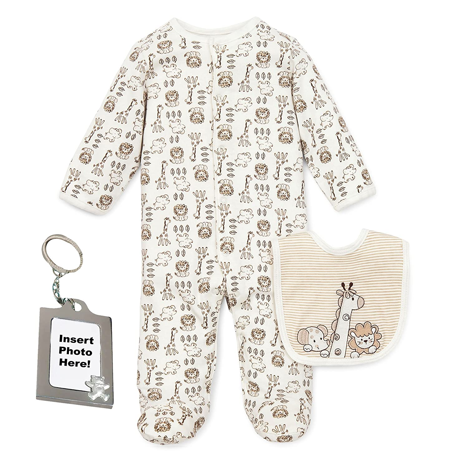 cb242590a Amazon.com  Little Me Preemie Newborn Baby Footed Sleeper Footie ...