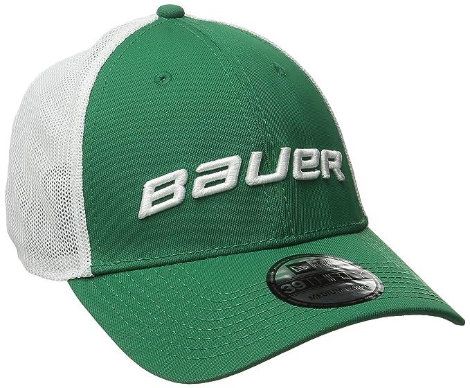 b4b0459088a092 Amazon.com : Bauer Men's 39Thirty Mesh Back Cap : Clothing