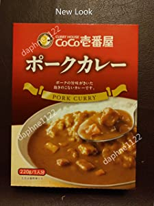 CoCo Ichibanya Curry House, Pork curry (pack of four)