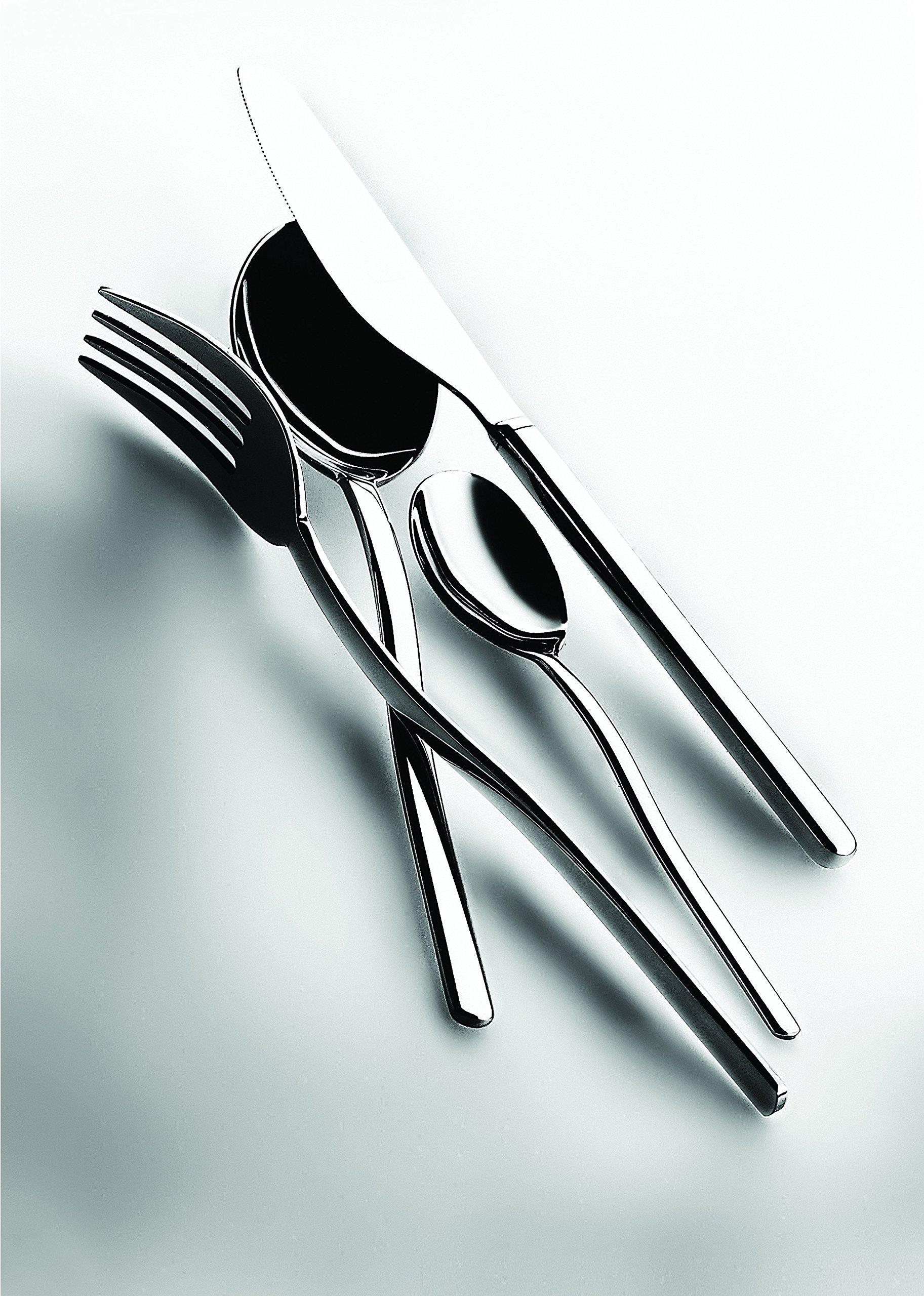 Mepra 100222087 87 Piece Sveva Cutlery Set, Stainless Steel