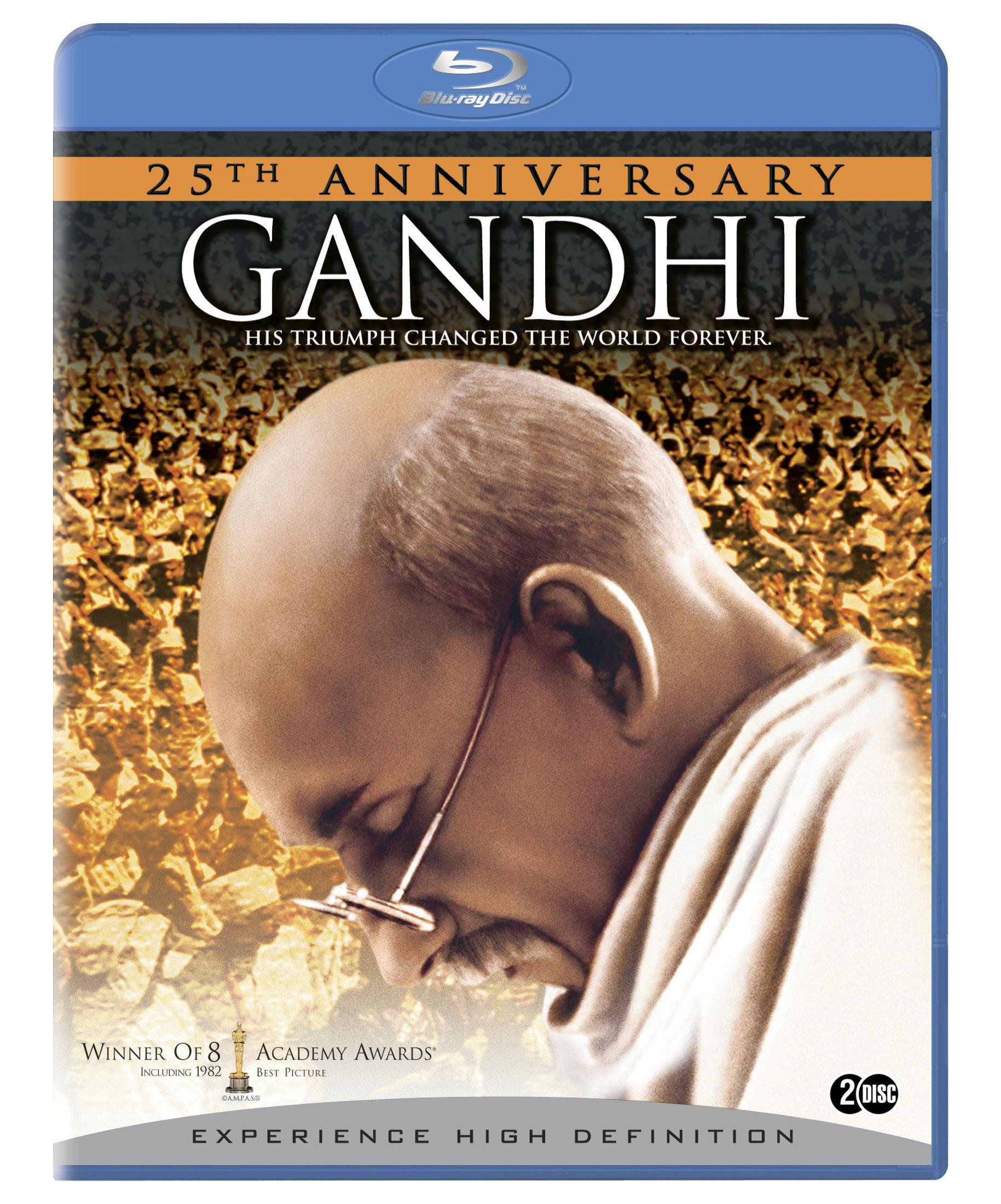 Blu-ray : Gandhi (, Dubbed, Dolby, AC-3, Widescreen)