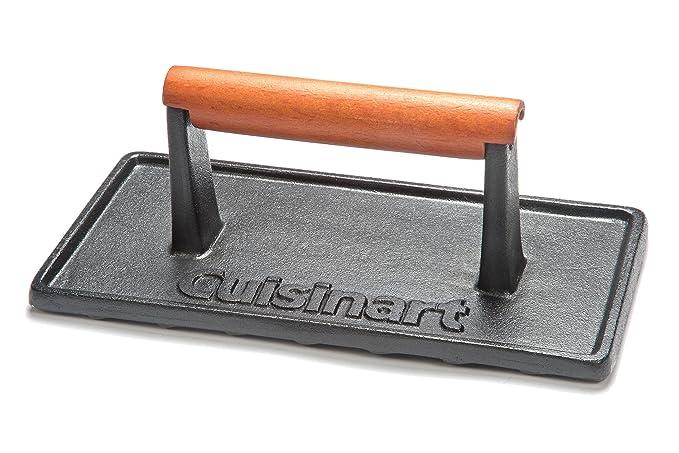 Amazon.com: CGPR-221 Prensa para parrilla de hierro fundido ...