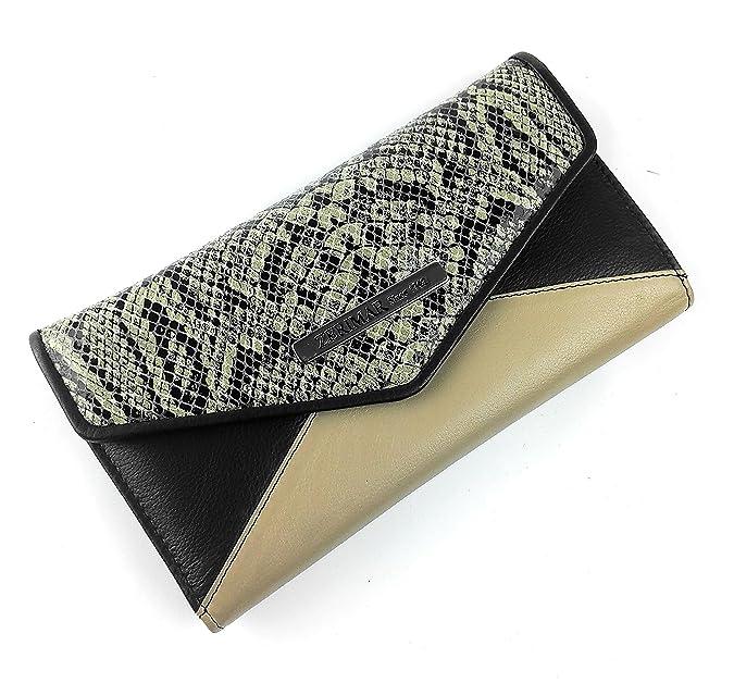 cartera piel de sepiente