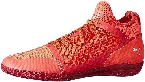 Puma 365 CT, Zapatillas de Fútbol para Hombre, Naranja (Fiery Coral-White-Toreador), 44.5 EU