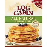 Log Cabin All Natural Pancake Mix, 28 Ounce