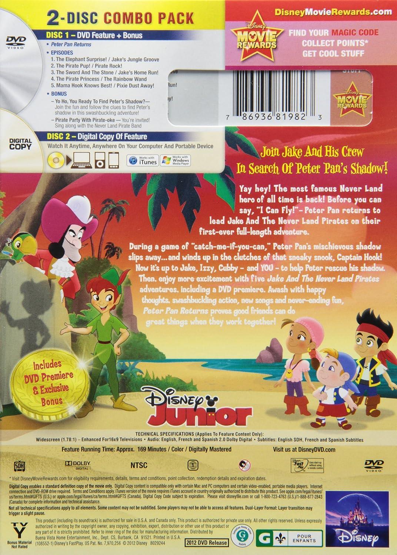 Amazon.com: Jake & the Never Land Pirates: Peter Pan Returns: Jake ...
