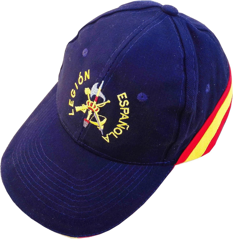 PC Gorra Bordada Legion Española Bandera de España Legionario ...