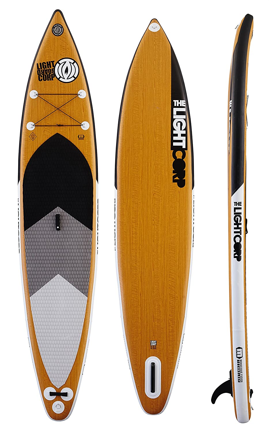 MFT Freeride Tourer 12 6 Inflatable Stand Up Paddle Tabla de Surf: Amazon.es: Deportes y aire libre