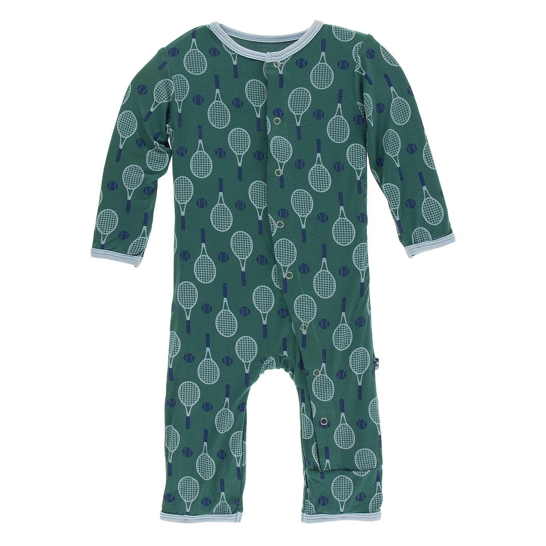 KicKee Pants Baby-boys Print Coverall PRD-KPCA103