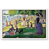 A Sunday Afternoon on the Island of La Grande Jatte - Georges Seurat Fine Art Collections Matte Poster 24x16